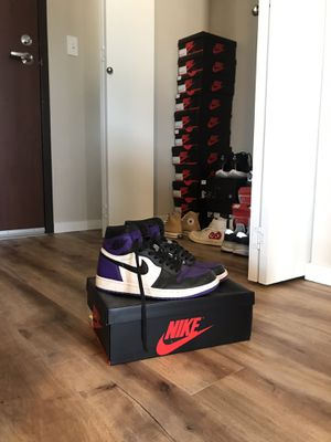 Air Jordan 1 purple court size 10 for Sale in Seattle, WA