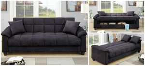 Ebony Adjustable and Storage Sofa for Sale in Hialeah, FL