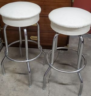 "Pair of matching vintage 30"" high swivel bar stools for Sale in Morton Grove, IL"