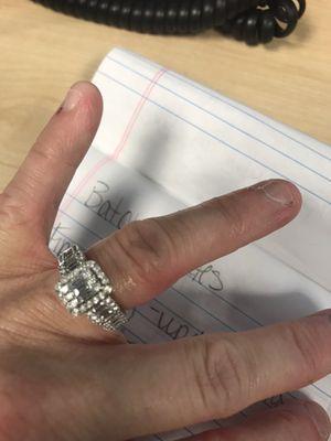 Wedding/engagement ring for Sale in Nolensville, TN