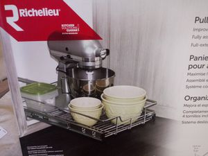 """Richeleu. Pull out cabinet organizer. """"Brand New"""" Unopened box. List is $70.00 for Sale in Costa Mesa, CA"""