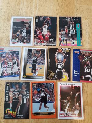 David Robinson San Antonio Spurs NBA basketball cards for Sale in Gresham, OR