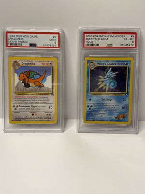 PSA Graded Pokemon for Sale in Raleigh, NC