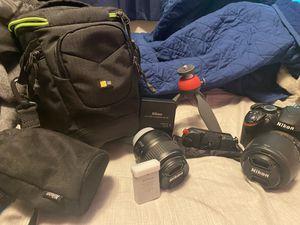 Nikon D3200 Kit for Sale in Mill Creek, WA