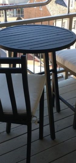 Table And Chairs Patio Balcony Set for Sale in Alexandria,  VA