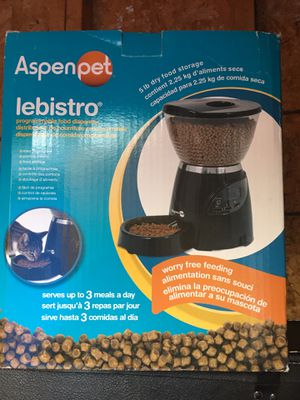 Automatic dog/cat feeder for Sale in Hyattsville, MD