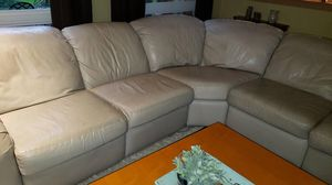 Leather sectional for Sale in North Bend, WA