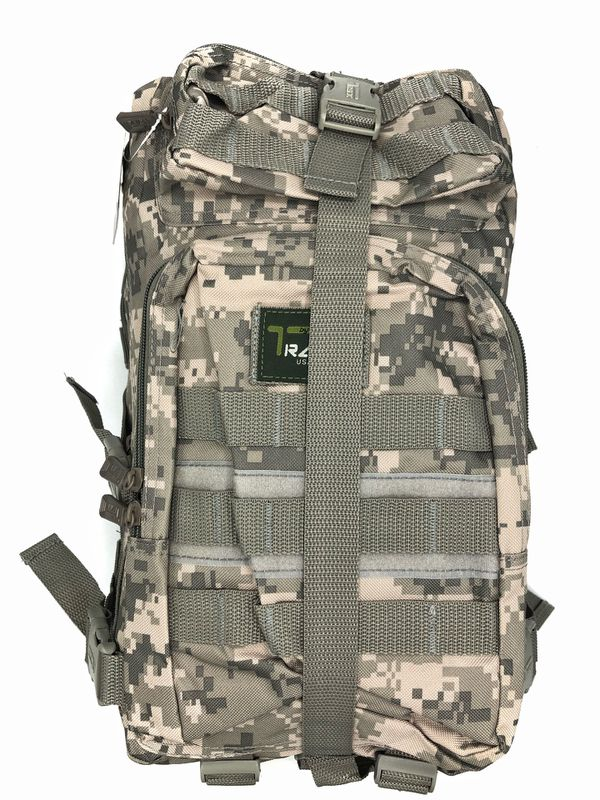 NEW! Camouflage Tactical Military style Backpack travel bag work bag hiking biking camping hydration bag school bag gym bag molle