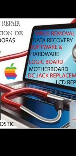 COMPUTER COMPUTADORA LAPTOP MACBOOK DESKTOP IMAC APPLE ANDROID REMOTE ACCESS AVAILABLE GAMING PC for Sale in El Monte,  CA