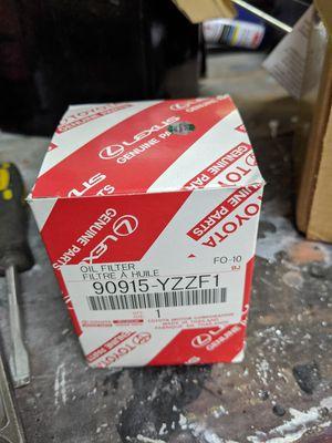 Mr2 oil filter for Sale in Renton, WA