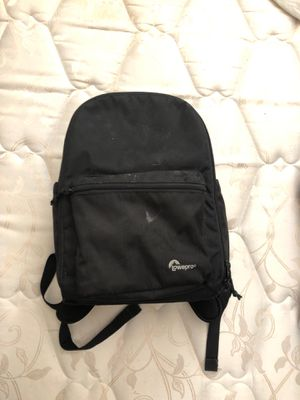 Lowepro laptop and camera backpack combo for Sale in Downey, CA