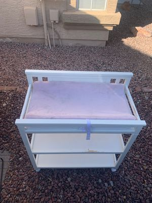 Changing table. Needs a little paint not broken for Sale in Chandler, AZ