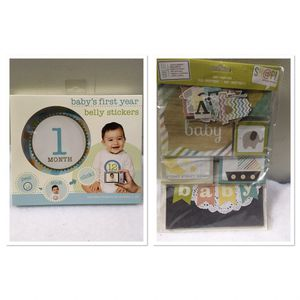 New baby first year belly stickers and scrapbook kit for Sale in Berwyn, IL