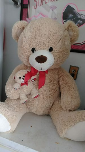 Large stuffed Mamma Bear with her Baby Bear for Sale in Las Vegas, NV