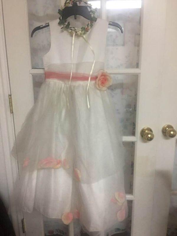 Flower girl dress (Size 12)