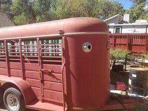 1993 CM 16' stock trailer for Sale in Payson, AZ
