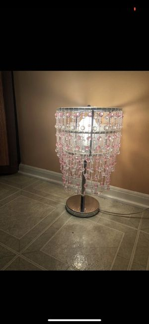 Chandelier table lamp for Sale in Shelby Charter Township, MI