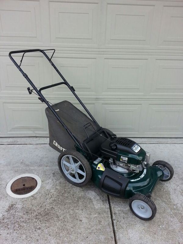 Craftsman 6 0hp Eager 1 Lawn Mower For Sale In Sacramento
