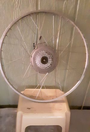 "Heinzmann 26"" electric bicycle wheel for Sale in Bremerton, WA"