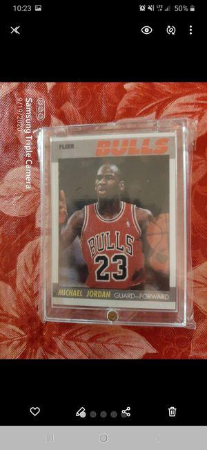 1987 Fleer Michael Jordan 2nd Year Card #59 for Sale in Los Angeles, CA