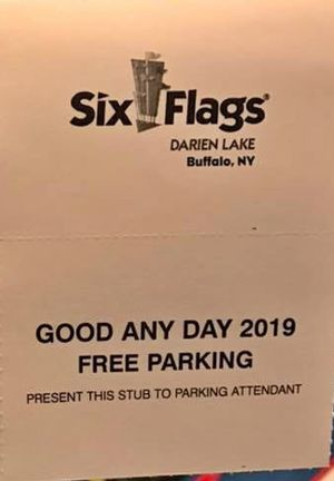Darien lake parking pass for Sale in Buffalo, NY