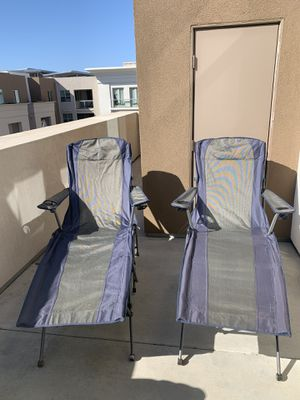 """#2 """"KAMP-RITE"""" SOFT ARM LOUNGERS for Sale in San Diego, CA"""
