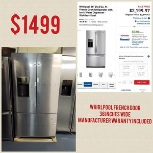 Whirlpool Refrigerator for Sale in Paterson, NJ