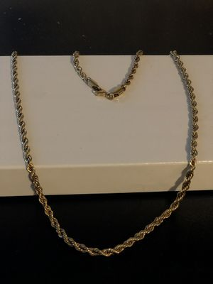 "14k 22"" gold chain for Sale in Pittsburgh, PA"