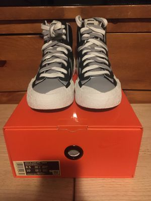 Nike Blazer Mid Sacai Black Grey Size 8.5 for Sale in Los Angeles, CA