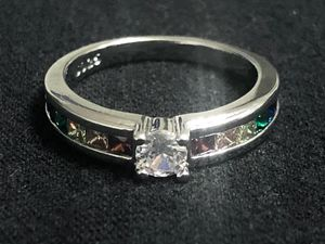 Sterling Silver Various Colors CZ Ring for Sale in Las Vegas, NV