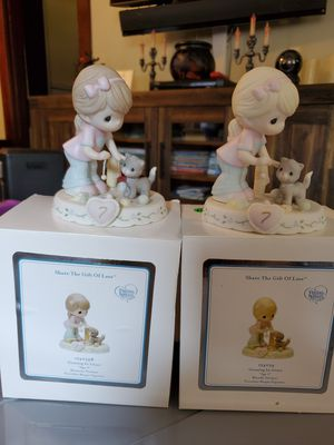 New porcelain precious moments growing in grace age 7 for Sale in San Dimas, CA