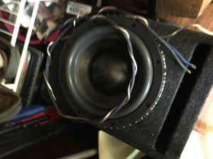 10inch sub with amp for Sale in Tyler, TX