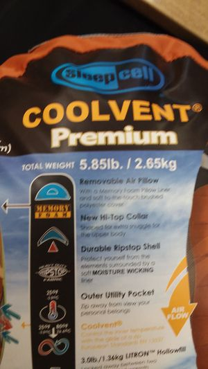 Sleep Celll Coolvemt Premium Sleeping Bag for Sale in Claremont, CA