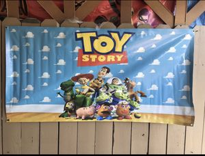 Toy Story Birthday Banner for Sale in Anaheim, CA