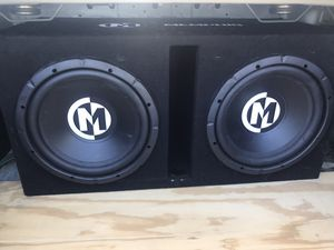 Memphis 12's and Memphis amp for Sale in Knoxville, TN