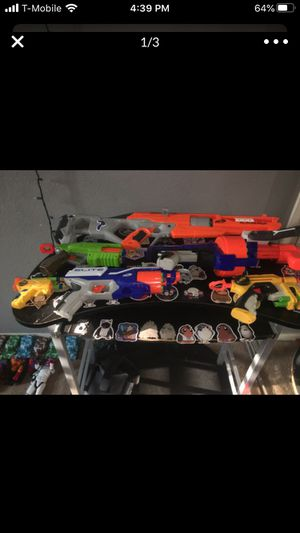 nerf guns for Sale in Perris, CA