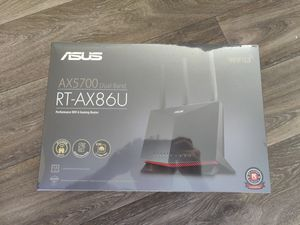 ASUS RT-AX86U AX5700 Dual Band WiFi 6 Gaming Router, 802.11ax. Brand New In Box Sealed for Sale in Riverside, CA