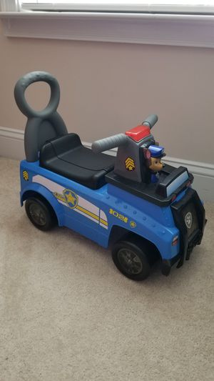 Paw Patrol Chase Ride On Car for Sale in Boiling Springs, SC