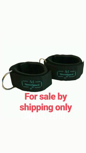 MFitness Apparel D-Ring Cable Ankle Straps for Sale in Montebello, CA