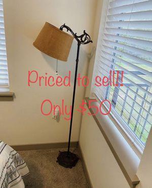 • Antique floor lamp • for Sale in Kent, WA