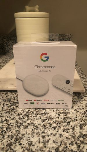 Google Chromecast NEW STILL IN WRAPPING for Sale in Nashville, TN