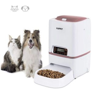 KUPPET Automatic Pet Feeder,Dogs Cats Food Dispenser 4 Meals with Timer Programmable, Voice Recorder, Portion Contro for Sale in Chicago, IL