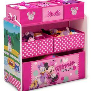 Delta Children Disney® Minnie Mouse 6-Bin Design and Store Toy Storage Organizer for Sale in Fort Lauderdale, FL