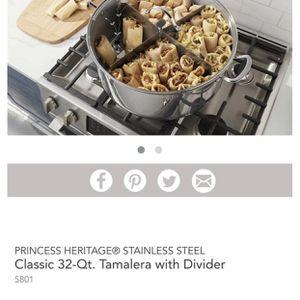 OLLA TAMALERA DE 32QT for Sale in Raleigh, NC