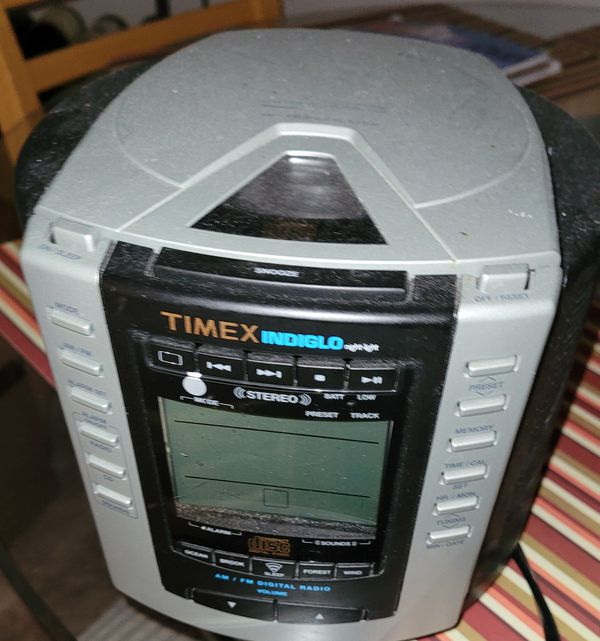 TIMEX Audio player and clock