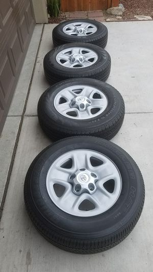 TOYOTA Tundra 18in, 5lug Wheel-Set $500 for Sale in Sacramento, CA