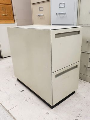 Long metal file cabinet filing cabinet for Sale in Boise, ID