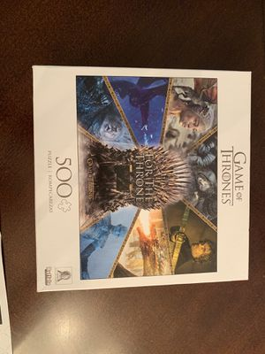 Game of Thrones puzzle! for Sale in Oak Lawn, IL