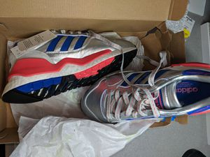 Adidas ZX930xEQT silver (EF5558) Size 5 men's 6.5 womens for Sale in San Marcos, TX