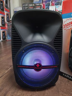 Bosina Nueva Bluetooth On SPECIAL !!! LED Lights 2500w Karaoke !!! Rechargeable 🔋 +++ Usb / Aux / Micro SD Card for Sale in Los Angeles, CA